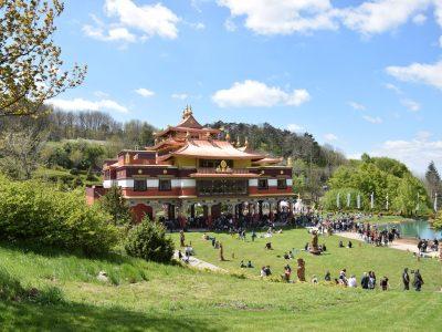 Lerab Ling – temple bouddhiste