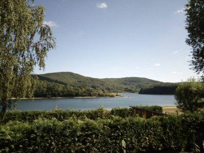 Olargues et le Lac de Laouzas